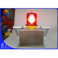 Wholesale AH-MS/S OEM/ODM solar powerd medium intensity 2000cd aviation obstacle lights from china suppliers