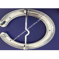 Buy cheap Smooth Ra3.2 Grading Corona Rings , Anti - Rust Arcing Horns And Rings from wholesalers