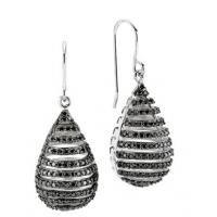 Wholesale Stylish 925 Silver Decorative Jewelry Gold Plated Earrings For Girls / Lady from china suppliers