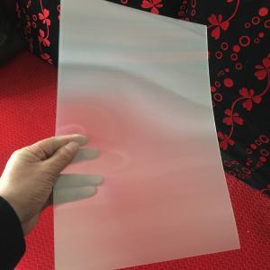 Wholesale 120cmx240cm 3 mm 3d lenticular sheet 20 LPI flip effect designed for flip effect on injekt printer USA from china suppliers