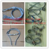 Wholesale Lace up cable sock  Cable grip  Cable socks from china suppliers