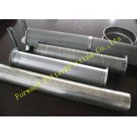 """Wholesale Galvanized Stainless Steel Perforated Pipe Large Diameter 1/4 -12"""" Center Tube from china suppliers"""