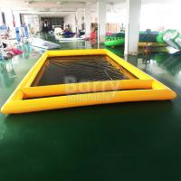 Wholesale Air Sealed Type Inflatable Car Wash Mat Water Collector Boarding With Drain from china suppliers