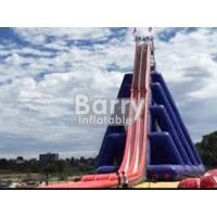 Wholesale 0.55mm PVC Commercial Grade Giant Inflatable Slide Easy Setup For Outdoor from china suppliers