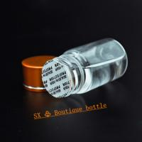 Buy cheap 2018 Health Care Food Different Size Screw Cap PET Clear Plastic Pill Bottles from wholesalers