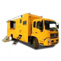 China King Run Mobile Kitchen Truck For Outdoor Engineering Project Camping Dining for sale