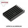 OEM aluminium extrusion profile CNC machined aluminum 6063 led heat sink for 400W for sale