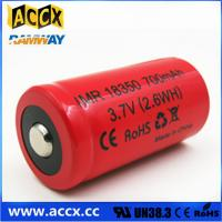 Quality ICR18350 700mAh 3.7V li-ion battery 18350 for led, cordless phone, home application for sale