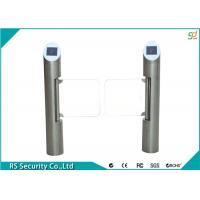 Quality Fully Automatic Safety Supermarket Swing Gate  Barrier Passages Turnstiles for sale