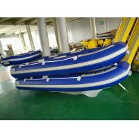 Wholesale 10 Ft PVC Foldable Rib Boat Easy Carry 3 Chamber 4 Person Inflatable Boat For Fishing from china suppliers