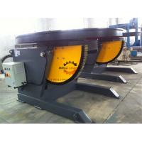 China 1100W Horizontal Automatic Pipe Welding Positioners 3 Ton Rotation Capacity on sale