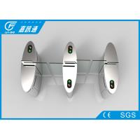 China Auto Sliding Flap Gate Barrier Turnstile Bi - Directional Single Passage For Gym on sale