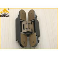Quality Silver Black Champagne Invisible Door Hinges Load 80 Kg Length 160mm Hinge for sale