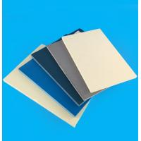 China Wall High Density PVC Board Sheets Anti - Aging For Outdoor Decoration on sale