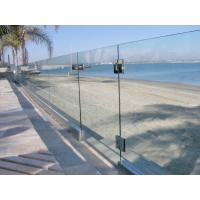 Baby Guard Rail DIY Glass Pool Fencing With Tempered Glass Gate