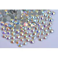 Shoes / Garment Loose Hotfix Rhinestones Extremely Shiny High Color Accuracy