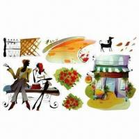Wholesale Removable Wall Stickers, Suitable for Decoration, Eco-friendly, Made of PVC from china suppliers