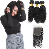 Wholesale Genuine Raw Peruvian Human Hair Extensions , Peruvian Virgin Hair With Closure from china suppliers
