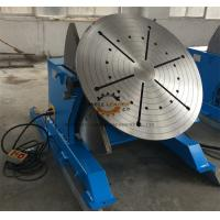 China 2 Ton Tilting Welding Table , Vessel Head Welding Positioner Turntable on sale