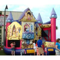 Wholesale Princess Disney Themed Inflatable Bounce Houses Commercial Grade For Children from china suppliers