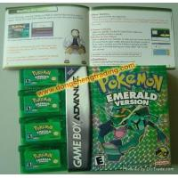 Wholesale GBA game card-Pokemon Emerald from china suppliers