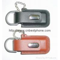 Wholesale cheap key ring leather usb 8gb 16gb from china suppliers