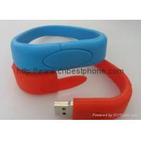 Wholesale Silicone wrist usb flash 2gb 4gb 8gb from china suppliers
