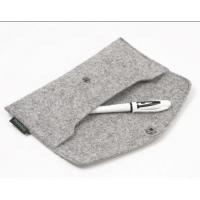 Buy cheap 100%wool felt pen bag and pencil bag from wholesalers