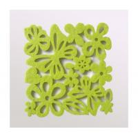 Buy cheap Coaster Die cut felt coaster/cup mat from wholesalers
