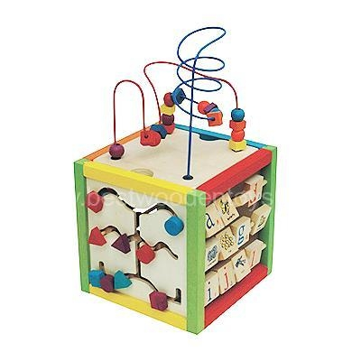 China Wooden Educational Toys Wooden play cube