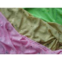 Wholesale chiffon 3-tone emb plus hologram spangle from china suppliers