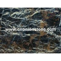 Black Golden Flower Marble