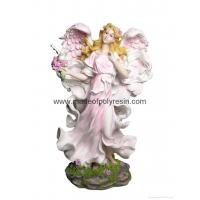 China polyresin standing fairy, resin fairy, fairy statue on sale