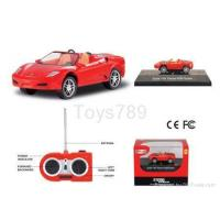 Wholesale Mini Ferrari F430 Spider 1:64 Scale Electric RC Car from china suppliers