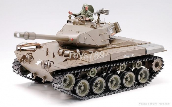 Quality 1/16 Battery Operated R/C Battle Tank for sale