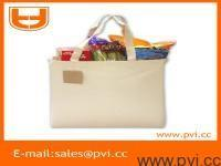 Wholesale Double Pocket Canvas Tote from china suppliers