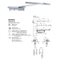 Wholesale Closer Name:Concealed door closer BK-D062 from china suppliers