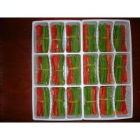 Buy cheap IQF Herbs Green Pepper and Red Pepper Strips Bundled from wholesalers