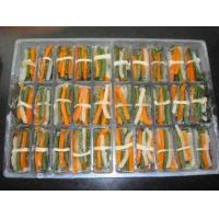 Buy cheap IQF Vegetables iqf green bean and carrot strips bundled from wholesalers