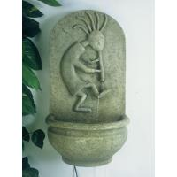 China Kokopelli Wall Fountain on sale