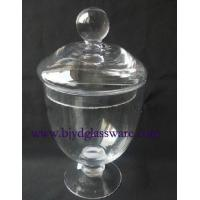 Wholesale candy jar with lid from china suppliers