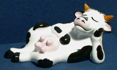 """Quality Just for Fun! """"Lazy Cow Figure"""" for sale"""