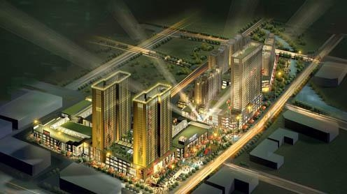 Quality Jishan New World Project Handan Real Estate for sale