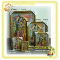 Wholesale SYW0927 3D Hindu god picture frame(Rodha Krishna) from china suppliers