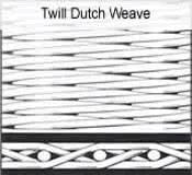 Wholesale Stainless Steel Twill Dutch Wire Mesh from china suppliers