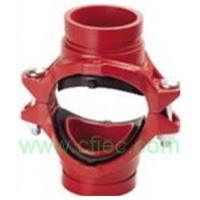 Wholesale Fire fighting grooved fittings  Cross, Mechanical Grooved from china suppliers