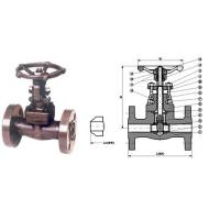 Wholesale Gate Valve Forged steel integral flanged end valve from china suppliers