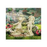 Wholesale Polyresin Statues Resin Boy Blowing Bubble Gum from china suppliers