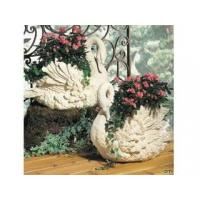 Wholesale Polyresin Statues Resin Swan Planters from china suppliers