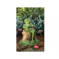 Wholesale Polyresin Statues Resin Fishing Frog Garden Statue from china suppliers